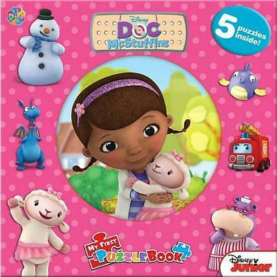 Disney Doc Mcstuffins Puzzle Book Free Shipping!