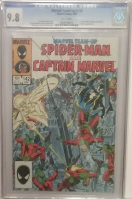 Marvel Team-Up #142 9.8 CGC Spiderman and Captain Marvel