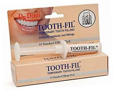 Dr Denti Tooth - Fil Fill Temporary Tooth Filling - Dentist Emergency at Home
