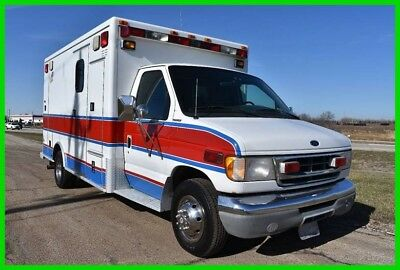 2001 Ford E-450 Ambulance with 7.3 Diesel Great Camper Conversion #15778