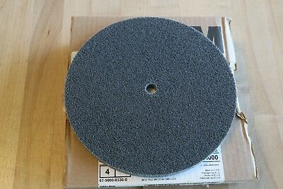 "3M Scotch-Brite EXL 8"" x 1/2"" x 1/2"" Deburring Finishing Polishing Wheel 2S Fine"
