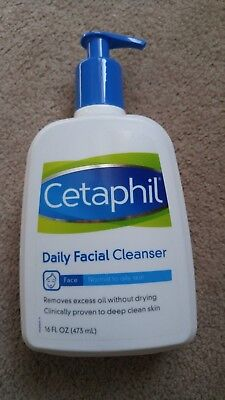 Cetaphil Daily Facial Cleanser Normal To Oily Skin 16 Oz Proven Deep Clean Skin