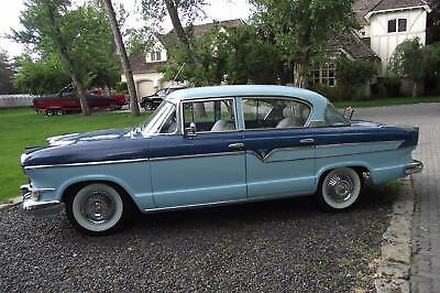 Hudson Wasp Deluxe 1956 Hudson Wasp Deluxe 72,771 Miles Blue 4 Door 6 cyl Automatic