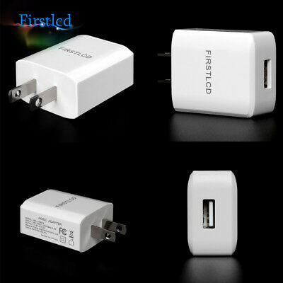 2A AC USB Power Wall Fast Charger Adapter Travel US Plug For Samsung iPhone HTC