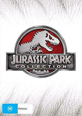 Jurassic Park Collection - DVD Region 4 Free Shipping!
