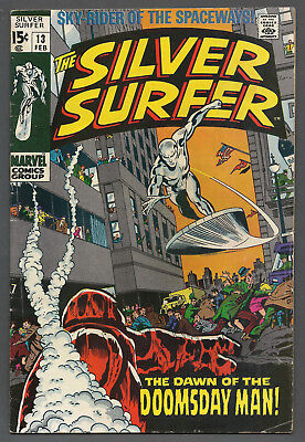 The Silver Surfer # 13 (Marvel Feb 1970) Bronze Age (See Scans / Pics)