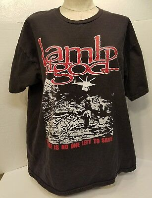 Lamb of God T-Shirt 2012 Tour Limited Dates Only 12 Shows! RARE Thrash Metal Nu