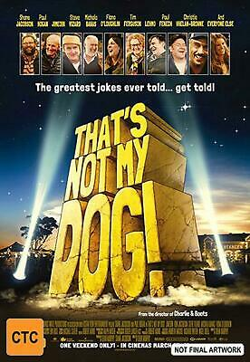 That's Not My Dog! - DVD Region 4 Free Shipping!