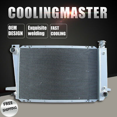 Replacement Aluminum Radiator Fits Q1452 for 95-97 Ford F-150 F-250 F350 4.9L