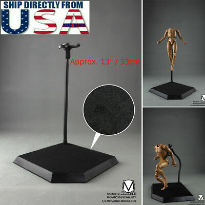 Dynamic Model Stand Bracket Mount For 1//6 Scale Hot Toy Figure Display Adjust HQ