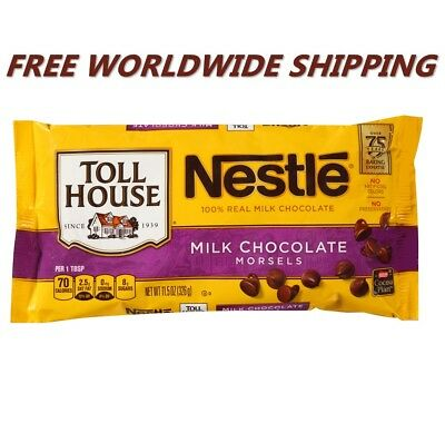 NESTLE TOLL HOUSE Milk Chocolate Morsels 11 5 Oz FREE WORLDWIDE SHIPPING