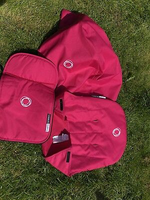 Bugaboo Cameleon 3 Hot Pink Canopy, Skirt And Seat Saver