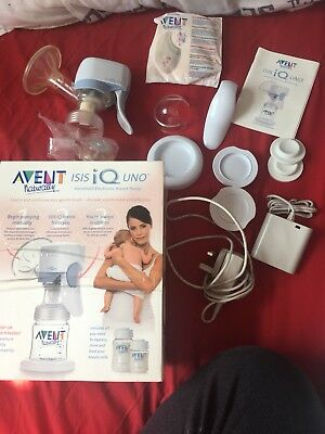 Avent, breast pump, electric