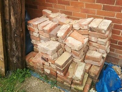 RECLAIMED imperial hand-made BRICKS large amount