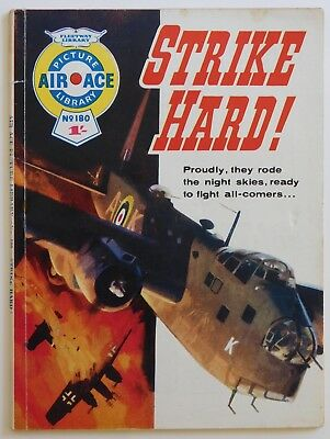 AIR ACE PICTURE LIBRARY #180 - 1964 (War, Commando, Battle)