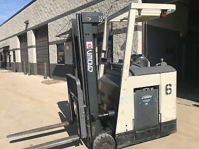 2000 Crown 3000 Pound Forklift-WE WILL SHIP! Budget buy-NARROW ISLE-TIGHT TURNS