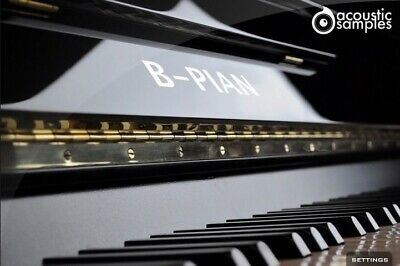 NEW ACOUSTICSAMPLES A-PIAN Grand Piano French UVI VST AU