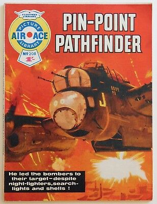 AIR ACE PICTURE LIBRARY #208 - 1964 (War, Commando, Battle)