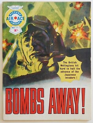 AIR ACE PICTURE LIBRARY #211 - 1964 (War, Commando, Battle)