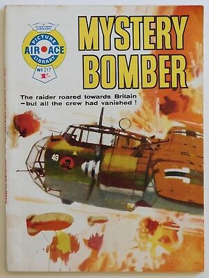 AIR ACE PICTURE LIBRARY #217 - 1964 (War, Commando, Battle)