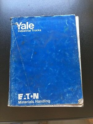 Yale forklift model gc glc 030 040 af service parts manual 1615 lift yale models gc gp glc glp forklift fork lift truck parts catalog manual book fandeluxe Image collections
