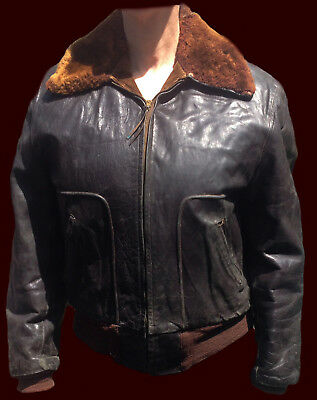"'1940's Private Purchase Horsehide Jacket (""B-15 Model"")"