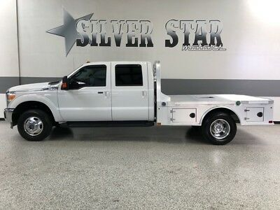 2015 Ford F-350  2015 F350 lariat Cab&Chassis Powerstroke CM-AlloyBed Loaded Xnice 1TXowner!