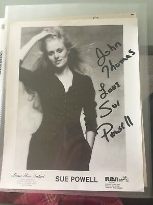 Sue Powell Signed 8x10 Photo