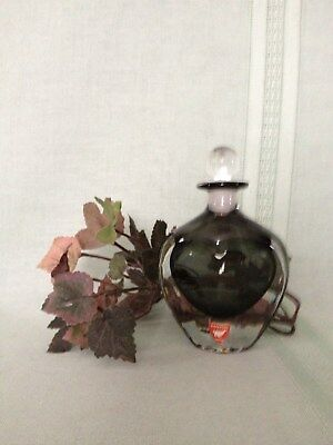 Orrefors  1960's perfum bottle in perfect condition.Never used.