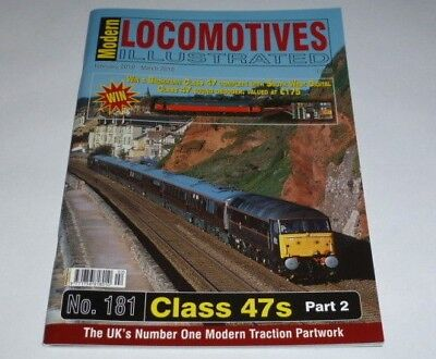 Modern Locomotives Illustrated No. 181 Class 47s - Part 2, Feb-March 2010