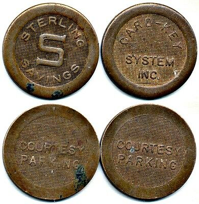 Parking Token Pair: Sterling Savings (Riverside,CA) & Card-Key Systems: Courtesy