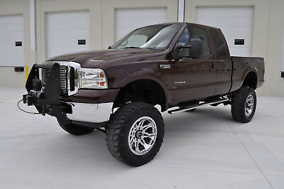 "1999 Ford F-350 SRW 4X4 Diesel 1999 Ford F350 SRW 4x4 Extended Cab ""Lifted"" 7.3L Powerstroke Turbo Diesel"