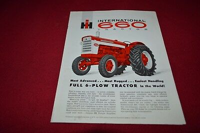 International Harvester 660 Tractor Dealer's Brochure AMIL13