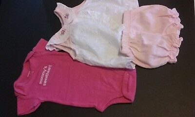 Park Bench Kids Infant girl 2 piece outfit. 3 month great condition.