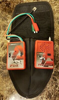 Triplett Fox & Hound  Wire and Cable Tracing Kit with Tone Generator