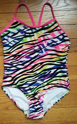 Girls OP swimsuit Size 6 - 6X Racer Back One Piece