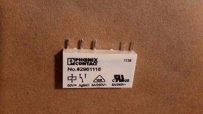 New Phoenix Contact Slim 2961118 power relays  6A/250 VAC  NEW !!!!