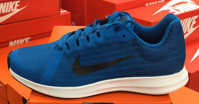 790a0f12c NIKE Downshifter 8 (GS) Kid's Youth Running Shoes Blue/Navy 922853 401 K