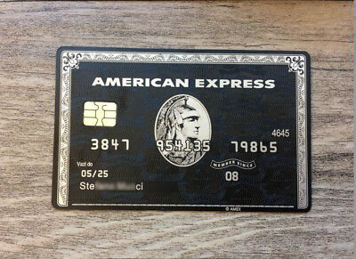 Custom Gift Card American Black Card 8E