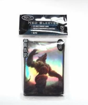 Max Protection Card Protection Neo Sleeves - Werewolf (50) MINT