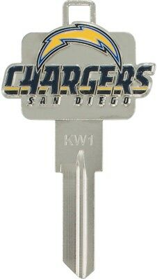 Hillman San Diego Chargers Brass House/Entry Key Blank