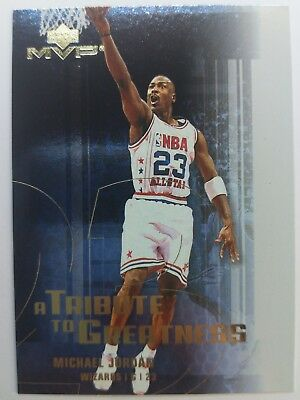 Rare: 2003 03 Upper Deck MVP Michael Jordan A Tribute To Greatness #MJ2 Wizards