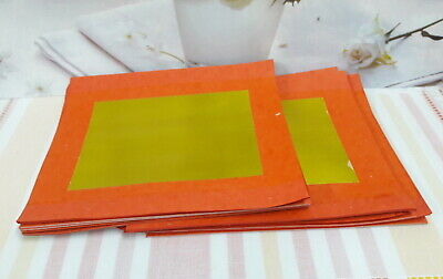 """and Silver 90 /""""pair/"""" sheets Orange and Gold CHINESE JOSS PAPER Yuan Bao"""