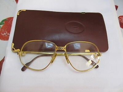Occhiali Cartier Panthere Windsor Gm Sunglasses Large 59 16 Luxury Vintage