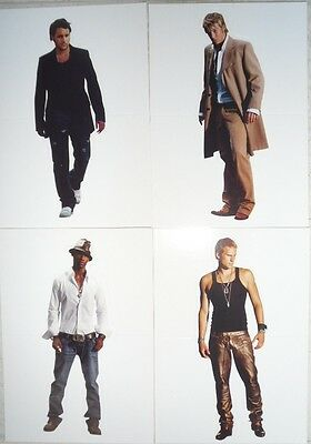 Blue Boyband Four Postcards Lee Ryan Duncan James Antony Costa Simon Webbe new