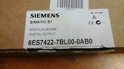 Siemens simatic s7 digital output 6ES7422-7BL00-0AB0