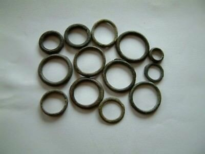 Lot of 13 Ancient Celtic rings Money