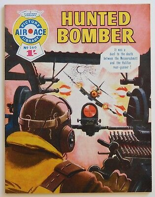 AIR ACE PICTURE LIBRARY #260 - 1965 (War, Commando, Battle)