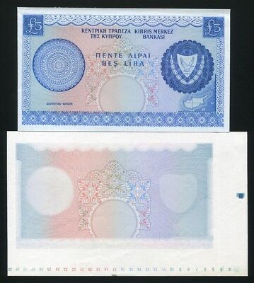 Cyprus 5 Pounds Progressive Proofs P44 About Uncirculated