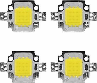 4 Stk. High Power 10W LED Chip in warmweiß kaltweiß 12V Aquarium DIY COB 1100 Lm